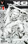 X-O Manowar Vol 3 #1 Cover J 4th Ptg