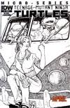 Teenage Mutant Ninja Turtles Micro-Series #7 Cover C April Incentive David Petersen Sketch
