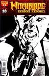 Witchblade Demon Reborn #2 Incentive Dennis Calero Black & White Cover