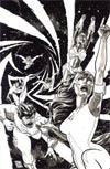 Hypernaturals #3 Incentive Wes Craig Virgin Sketch Cover