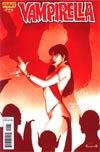 Vampirella Vol 4 #22 Incentive Paul Renaud Blood Red Cover