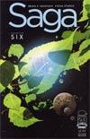 Saga #6 Cover B 2nd Ptg