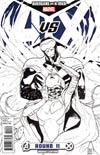 Avengers vs X-Men #11 Cover F Incentive Sara Pichelli Sketch Cover