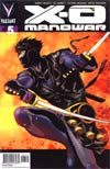 X-O Manowar Vol 3 #5 Cover D Incentive Patrick Zircher Interlocking Ninjak Variant Cover