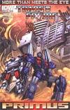 Transformers More Than Meets The Eye Annual 2012 #1 Incentive Jimbo Salgado Interlocking Variant Cover