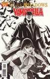 Dark Shadows Vampirella #2 Incentive Fabiano Neves Black & White Cover