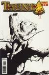 Thunda Vol 2 #2 Incentive Jae Lee Black & White Cover