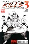 Deadpool Kills The Marvel Universe #3 2nd Ptg Variant Cover