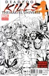 Deadpool Kills The Marvel Universe #4 2nd Ptg Variant Cover