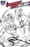 Danger Girl GI Joe #3 Cover C Incentive J Scott Campbell Sketch Cover