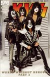 KISS Vol 2 #4 Incentive Photo Variant Cover