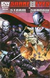 Snake Eyes & Storm Shadow #17 Incentive Robert Atkins Variant Cover