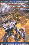 Transformers Robots In Disguise Annual 2012 Incentive Jimbo Salgado Interconnecting Variant Cover