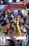 Action Comics Vol 2 #15 Cover A Regular Rags Morales Cover
