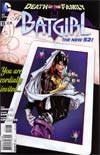 Batgirl Vol 4 #15 (Death Of The Family Tie-In)