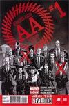 Avengers Arena #1 Regular Dave Johnson Cover