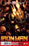 Iron Man Vol 5 #4 1st Ptg Regular Greg Land Cover