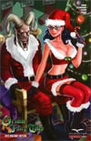 Grimm Fairy Tales 2012 Holiday Special Cover C Joe Pekar