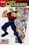 New Crusaders Rise Of The Heroes #5 Variant Ben Bates ZIP Comics Cover