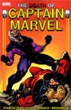Captain Marvel Death Of Captain Marvel TP New Printing