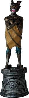 DC Superhero Chess Figure Collector Magazine #24 Man-Bat Black Rook
