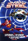 DC Super Heroes Man Of Steel Superman vs The Demons Of Deep Space Young Readers Novel TP