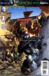 Team 7 Vol 2 #1 Cover B Incentive Jim Lee Variant Cover