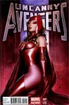 Uncanny Avengers #1 Incentive Adi Granov Variant Cover
