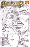 Damsels #2 Incentive Joseph Michael Linsner Sketch Cover