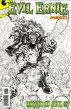Evil Ernie Vol 3 #1 Incentive Nick Bradshaw Black & White Cover