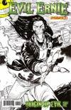 Evil Ernie Vol 3 #1 Incentive Tim Seeley Black & White Cover