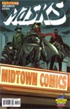 Masks #1 Midtown Exclusive Comic Shop Heroic Cover - Special Price!!!