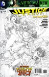 Justice League Vol 2 #13 Incentive Tony S Daniel Sketch Cover
