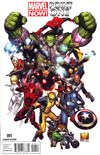 Marvel Now Point One #1 Incentive Joe Quesada Variant Cover