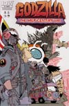 Godzilla Half-Century War #3 Cover B Incentive Brandon Graham Variant Cover