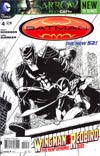 Batman Incorporated Vol 2  #4 Cover B Incentive Chris Burnham Sketch Cover