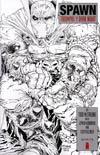 Spawn #224 Incentive Todd McFarlane Black & White Cover