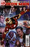 Invincible Iron Man #527 Variant Final Issue Cover