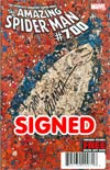Amazing Spider-Man Vol 2 #700 DF Signed By John Romita Sr
