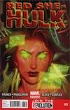 Red She-Hulk #61 Regular Jana Schirmer Cover