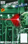 Star Trek The Next Generation Doctor Who Assimilation2 #8 DF Exclusive Variant Cover