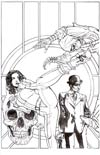 Steed And Mrs Peel Vol 2 #2 Incentive Drew Johnson Virgin Sketch Cover