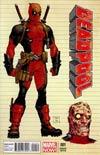 Deadpool Vol 4 #1 Incentive Tony Moore Design Variant Cover