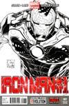 Iron Man Vol 5 #1 Incentive Joe Quesada Sketch Cover