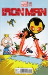 Iron Man Vol 5 #1 Variant Skottie Young Baby Cover