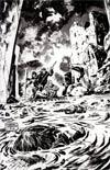 Planet Of The Apes Cataclysm #3 Incentive Gabriel Hardman Virgin Sketch Cover