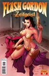 Flash Gordon Zeitgeist #7 Incentive Pow Rodrix Risque Variant Cover