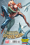 Amazing Spider-Man Vol 2 #700 Cover J Midtown Exclusive J Scott Campbell Connecting Variant Cover (Part 1 of 2)