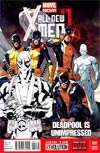 All-New X-Men #1 Cover G Incentive Unimpressed Deadpool Sketch Cover