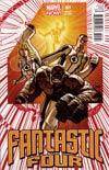 Fantastic Four Vol 4 #1 Incentive Dave Johnson Variant Cover